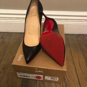 Authentic Christian Louboutin Size 38.5 Pigalle